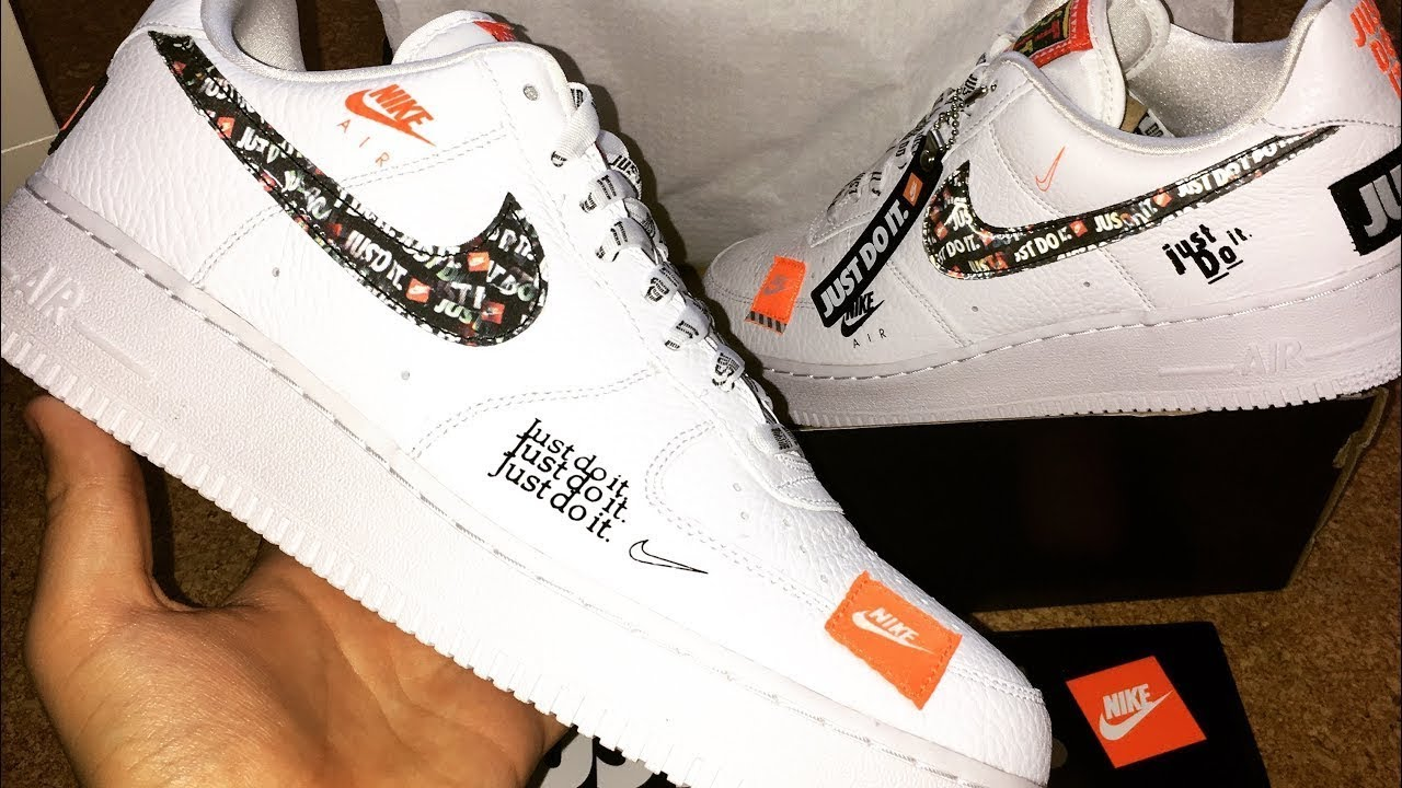 Nike Air Force 1 Just Do It unboxing