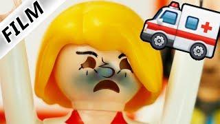 Playmobil Film Deutsch NASE GEBROCHEN! MAMA WIEDER IM KRANKENHAUS WEGEN JULIAN! Familie Vogel