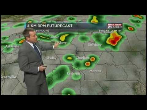 WBTV Weather Forecast 04.10.15