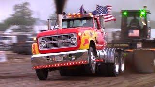 Tractor/Truck/Semi Pulls! 2018 Seneca County Fair Pull OSTPA