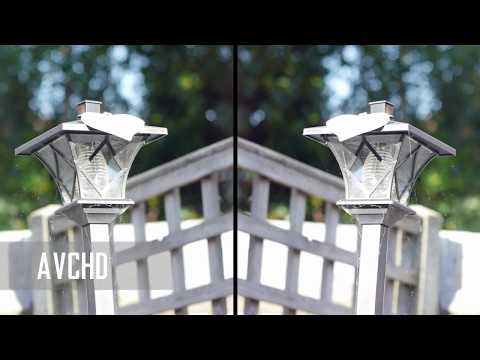 Hacked GH2 Recording Comparison - 72Mbs AVCHD vs 2K MPEG