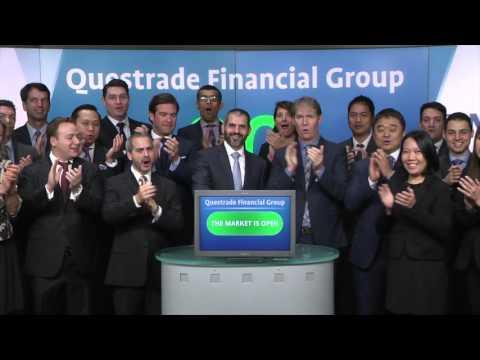 Questrade Financial Group opens Toronto Stock Exchange, October 2, 2015