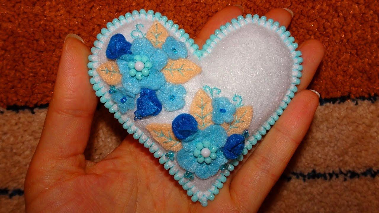 Игольница своими руками сердечко фото 166