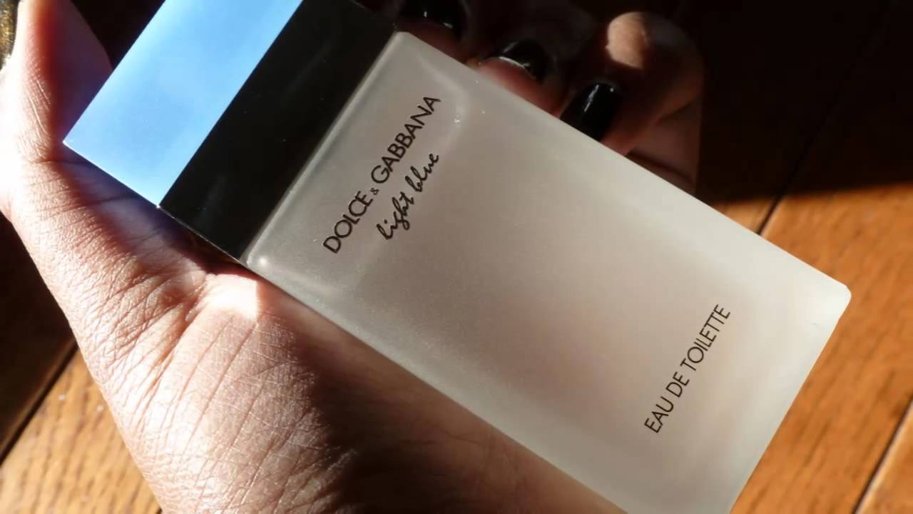Духи Dolce Gabbana D&G Light Blue (Дольче Габбана Лайт Блю) - YouTube
