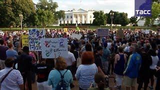 В Вашингтоне прошли акции протеста против национализма