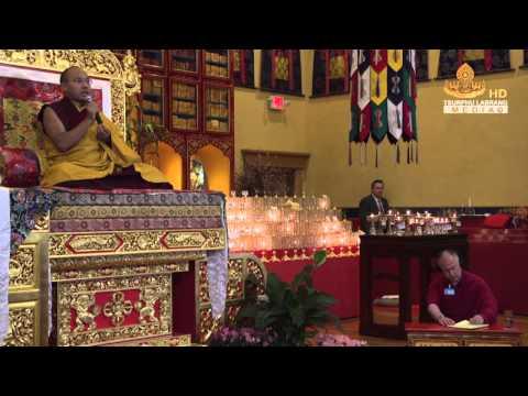 Teaching at Karma Triyana Dharmachakra 3 / 4