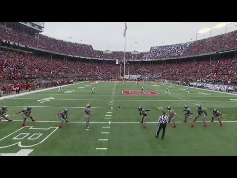 Saquon Barkley Returns Opening Kick for TD vs. Ohio State
