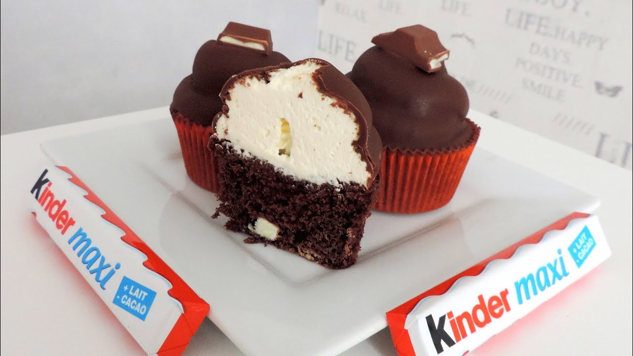 Bien connu Recette des cupcakes au Kinder - William's Kitchen - YouTube UF11