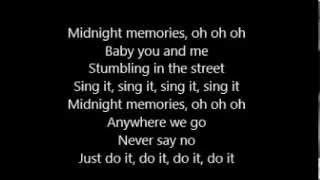 One Direction Midnight Memories Lyrics | High Quality Audio