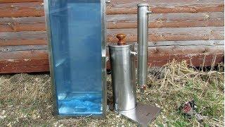 Коптильня холодного копчения ХАНХИ с дымогенератором. Обзор.
