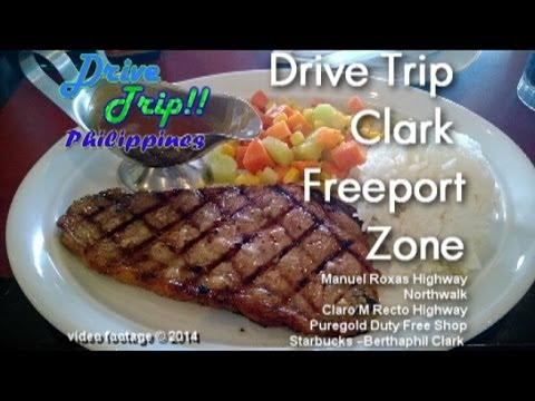 Drive Trip!! Philippines - Clark Freeport Zone Pampanga