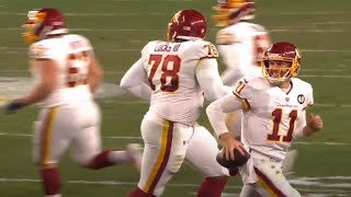 Alex smith took the game ball with him after his final play of drive, forcing refs to get another and give washington more time a f...