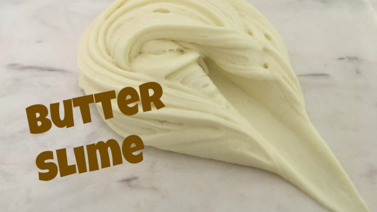 how to make butter slime with cornstarch