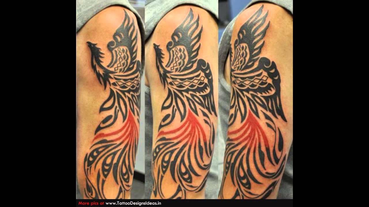 Tribal Tattoo Pics: Tribal Phoenix Tattoo Meaning