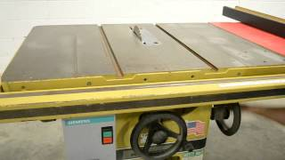 Powermatic 66 5HP Table Saw