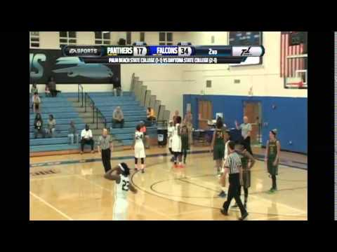 Palm Beach State College Vs Daytona State College Women's BB