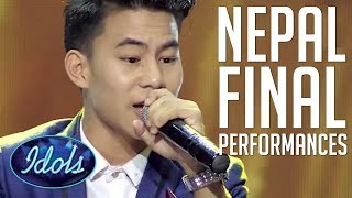 NEPAL IDOL 2017 Finale Performances | Winner Buddha Lama, Nishan Bhattarai बुुद्ध लामा Pratap Das