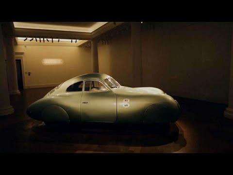 Video | Dünyanın ilk Porsche logolu otomobili açık artırmaya çıkıyor