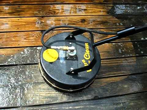 Deck Cleaning Using State Of The Art Hydro Scrubbing