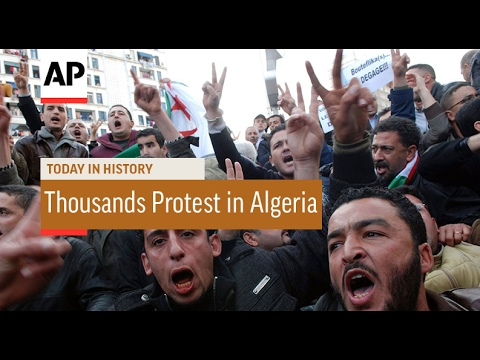 Thousands Protest in Algeria - 2011 | Today In History | 12 Feb 17