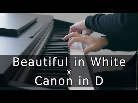 Beautiful in White x Canon in D (Piano Cover by Riyandi Kusuma)