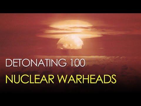 What if we detonated 100 nuclear warheads?
