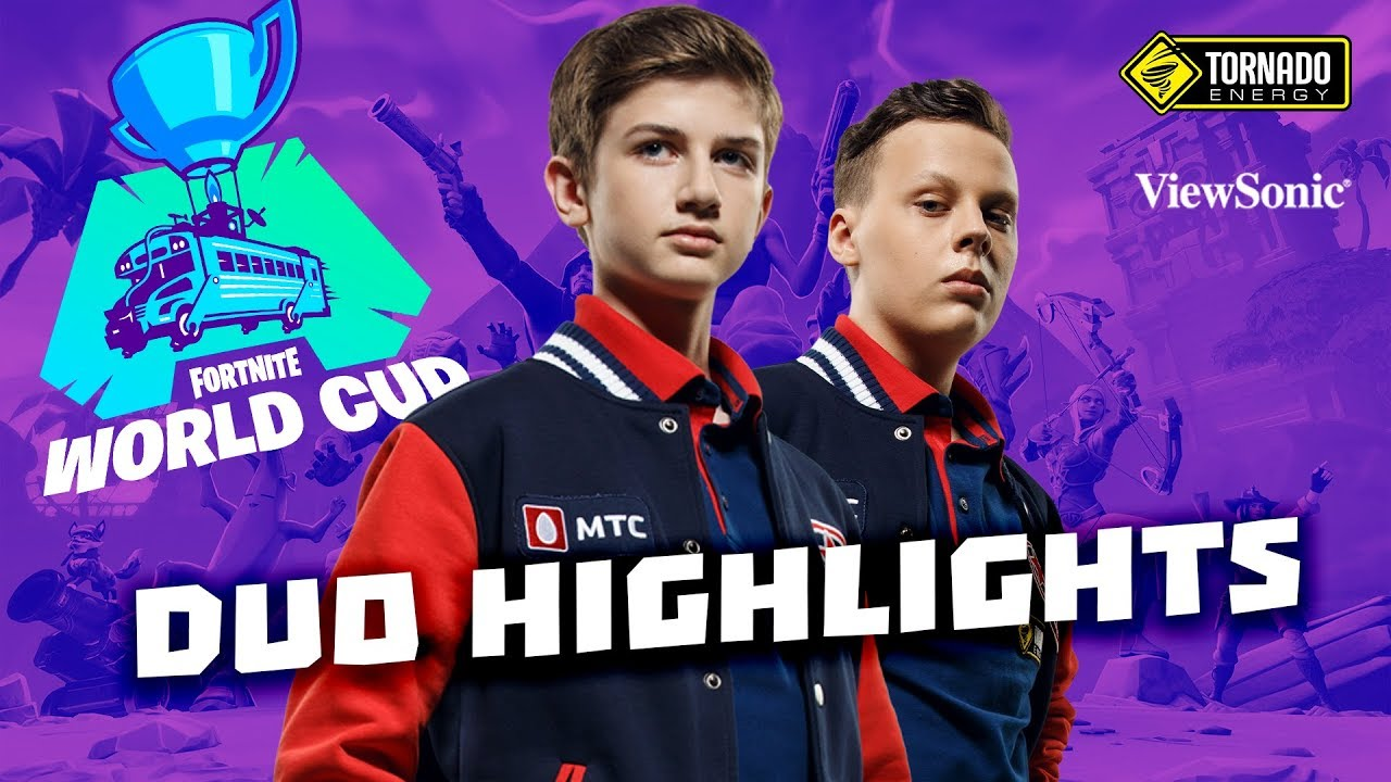 letw1k3 & fwexY Duo Highlights | Gambit Fortnite World Cup