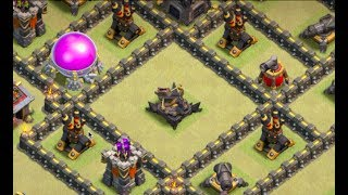 How to Use X-Bow Islands in TH9 War Bases | Clash of Clans