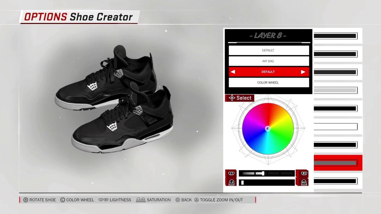 NBA 2K18: How to make Air Jordan 4 Carhartt X Eminem