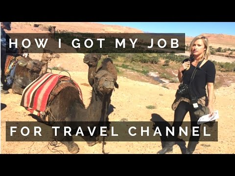 HOW I GOT MY DREAM JOB FOR TRAVEL CHANNEL | LA & WHAT