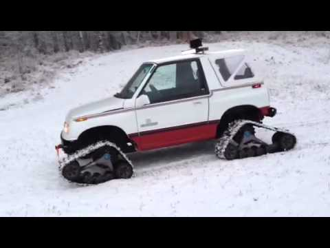 Geo tracker on tatou s 4 tracks youtube - Tacker fur polstermobel ...