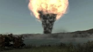 ArmA 2 - Nuking Cherno + Aftermath