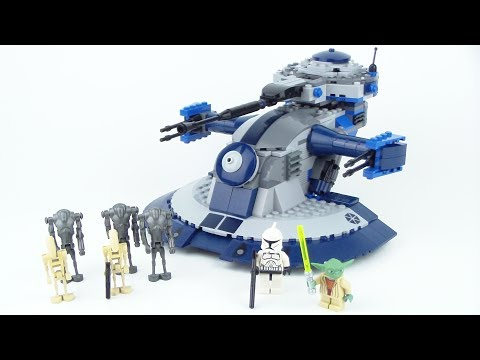 LEGO Star Wars: Armoured Assault Tank (AAT) 8018 Review!!!