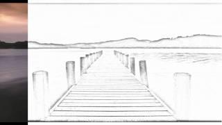Auto Draw 2: Coniston Water, Lake District, Cumbria, England