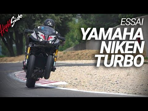 ESSAI : Yamaha Niken Turbo (english Subtitles)