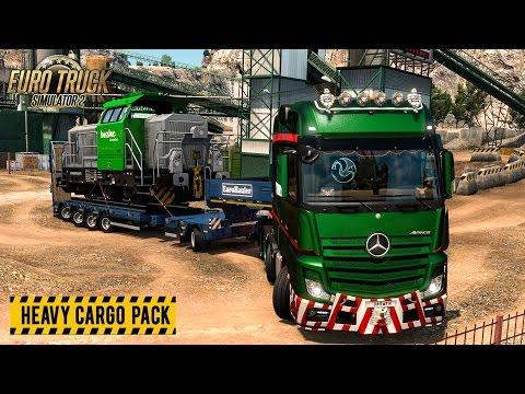Euro Truck Simulator 2 | Heavy Cargo Pack DLC