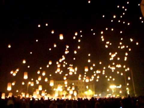 how to make sky lanterns youtube