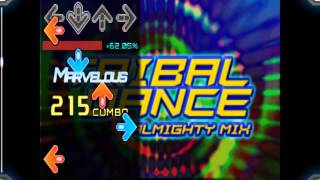 【DDR 5thMIX / StepMania / Single Expert】TRIBAL DANCE(ALMIGHTY MIX) PFC(99.01%)