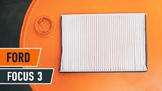 Как се сменят филтър за купе на FORD FOCUS 3 урок | Autodoc