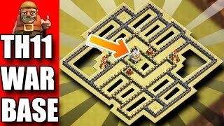 TH11 ANTI BOWITCH / ANTI QUEEN WALK , ANTI BOWLER HEALER WAR BASE