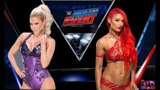 WWE Main Event 2K Lana vs Eva Marie