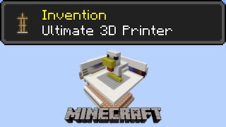 Repeat youtube video The Ultimate 3D Printer - 9x10x9 printing, with any blocks, in under 5 seconds