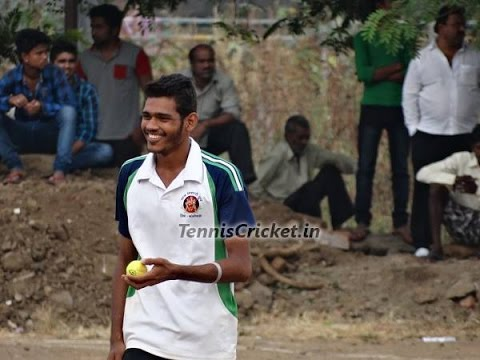 Ganga 1st over in Semifinal ( Navi Mumbai Tennis Cricket ...