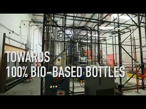 Towards 100% bio-based plastic bottles