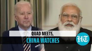 Quad meet: What PM Modi, Joe Biden said on China; Australia PM's 'namaste'