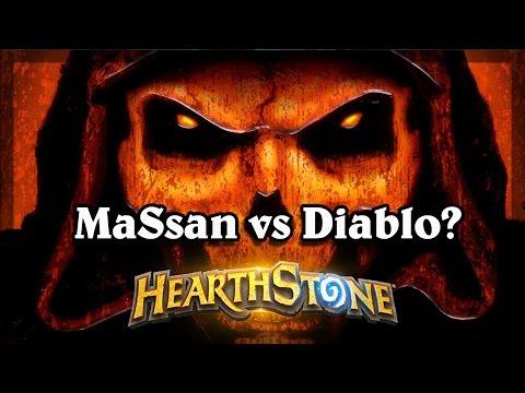 Hearthstone - MaSsan vs Diablo?