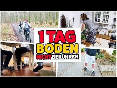 1 Tag den BODEN NICHT BERÜHREN 🔥 Boden ist LAVA 😂 TipTapTube 😁 Familienkanal 👨👩👦👦