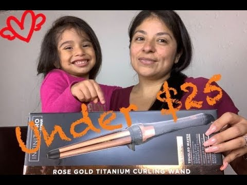Infiniti Pro by Conair (Rose Gold Titanium Curling Wand) Review