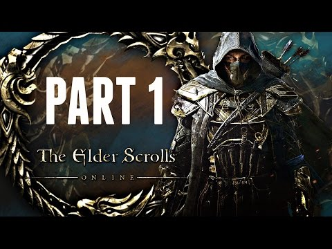 Elder Scrolls Online Walkthrough Part 1 - INTRO! (Ps4/Xbox One CO-OP Gameplay 1080p HD)