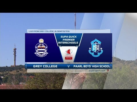 Premier Interschools Rugby | Grey College vs Paarl Boys